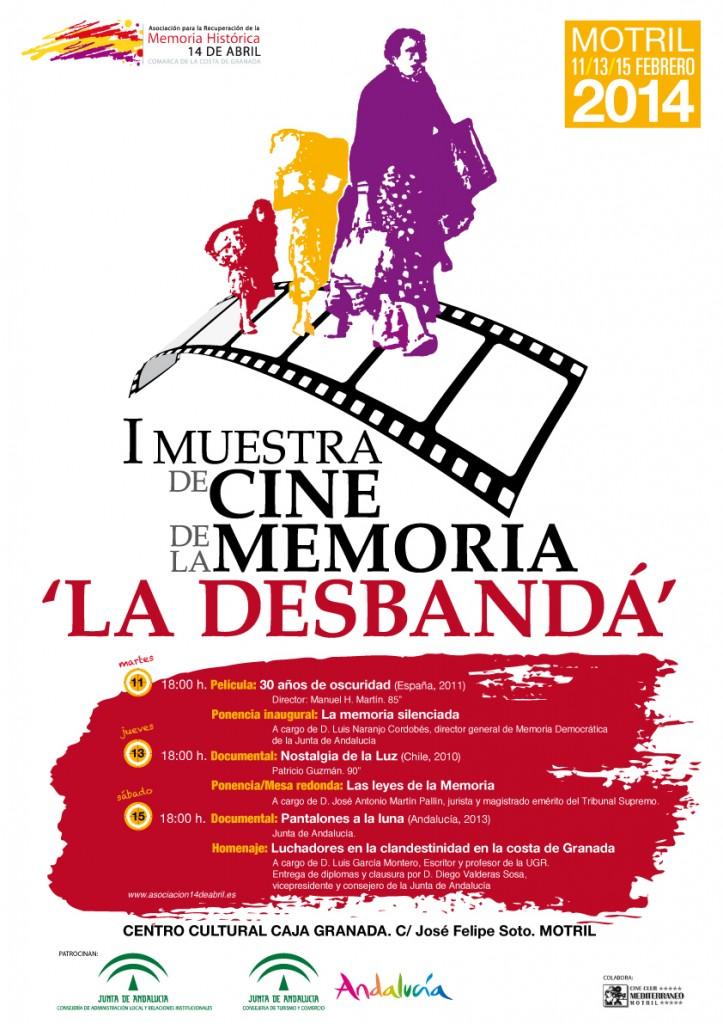 Motril acogerá la I Muestra de Cine de la Memoria 'La Desbandá'
