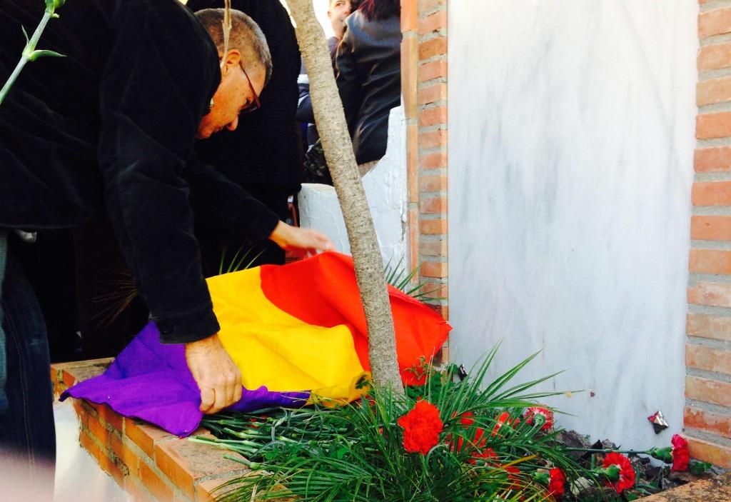 Acto Cementerio de La Herradura, 20 noviembre 2014