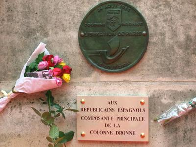 Los republicanos españoles que liberaron París