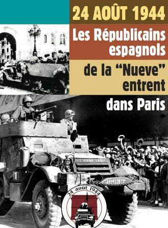 Republicanos españoles en la liberación de París