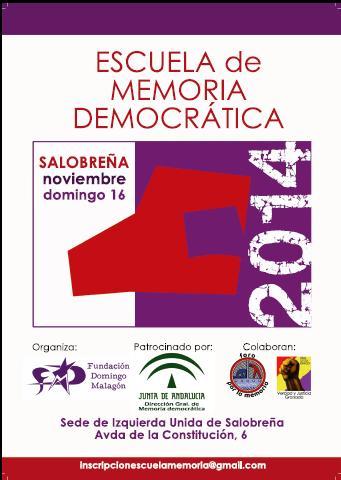 Escuela de Memoria Democrática