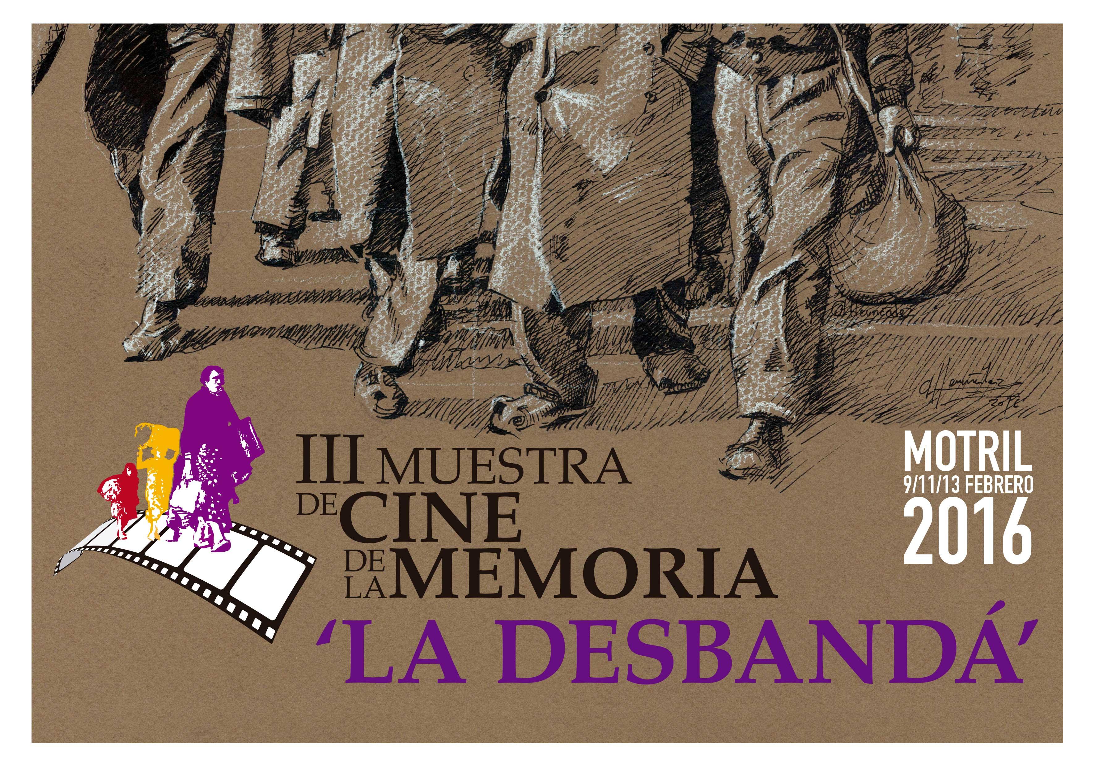 CINE, PRESENTACIONES, DEBATES Y ACTIVIDADES EN LA III MUESTRA DE CINE DE LA MEMORIA LA DESBANDÁ