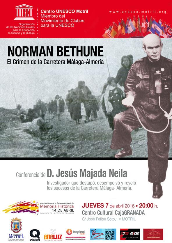 Conferencia: Norman Bethune. El crimen de la carretera Málaga-Almería.