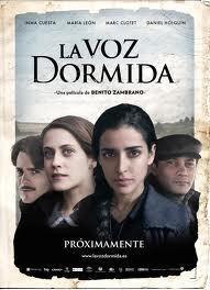 """La Voz dormida, martes, 18 horas. II Muestra de Cine de la Memoria """"la desbandá""""."""