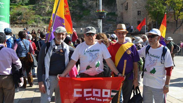 Salida marcha senderista La Desbanda´de Málaga